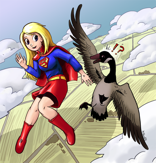 Geese just don't get Kryptonians