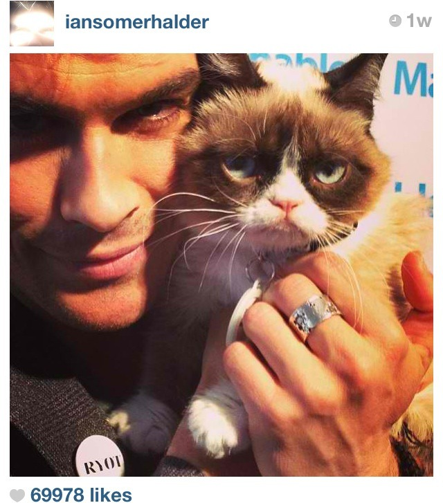 ian somerhalder and tartar sauce :) -alex
