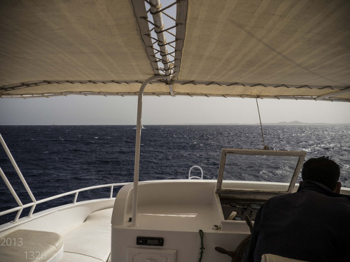 Diving in Sharm el Sheikh on Flickr.Rough sea, on our way to Jackson Reef.