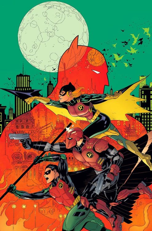 Batman and Robin #36  What is even going on here? I don't know, but I like it so much!