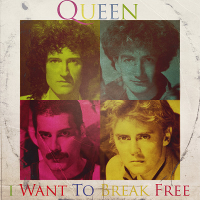 goose-graphics:  Queen - I Want To Break Free