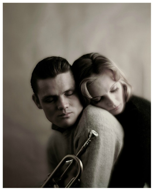 one-photo-day:  Chet Baker and Wally Coover by Melvin Sokolsky