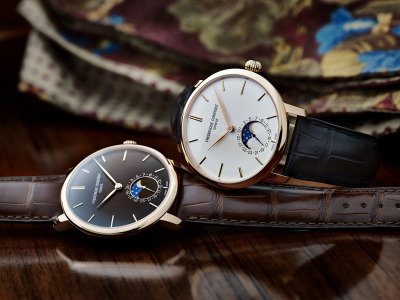 (via Introducing The Frederique Constant Slimline Moonphase Manufacture (Live Pics & Pricing) — HODINKEE - Wristwatch News, Reviews, & Original Stories)