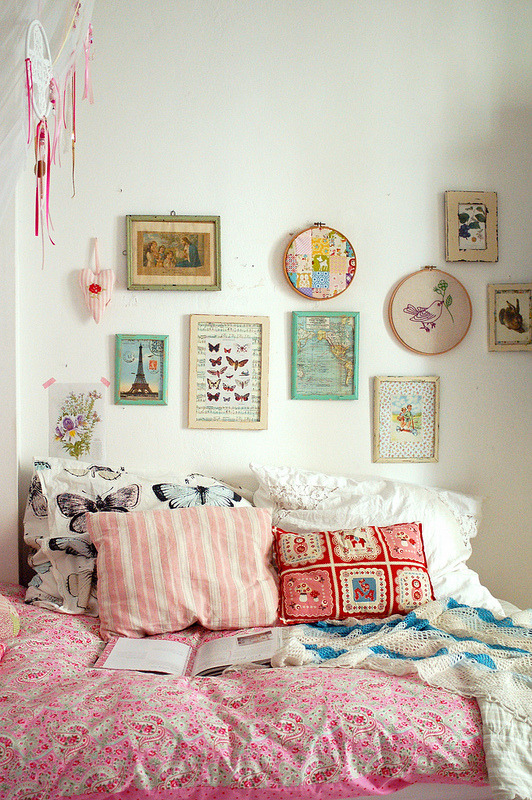 (via Home & Garden : Ambiance girly chez Jasna Janekovic)
