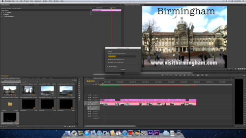 Rendering our finished Birmingham Piece! Chelt and Glos to come though!