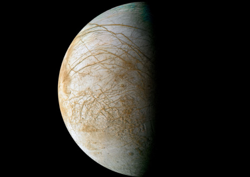 "NASA Eyes Mission to Jupiter Moon Europa     Though NASA is devoting many of its exploration resources to Mars these days, the agency still has its eye on an icy moon of Jupiter that may be capable of supporting life as we know it.      Last week, NASA officials announced that they plan to launch a $1.5 billion rover to Mars in 2020, adding to a string of Red Planet missions already on the docket. The Curiosity rover just landed this past August, for example, and an orbiter called Maven and a lander named InSight are slated to blast off in 2013 and 2016, respectively.      But NASA is also thinking about ways to investigate the possible habitability of Europa, Jupiter's fourth-largest moon. One concept that may be gaining traction is a so-called ""clipper"" probe that would make multiple flybys of the moon, studying its icy shell and suspected subsurface ocean as it zooms past.      ""We briefed NASA headquarters on Monday, and they responded very positively,"" mission proponent David Senske, of NASA's Jet Propulsion Laboratory in Pasadena, Calif., said here Dec. 7 at the annual fall meeting of the American Geophysical Union.      The $2 billion unmanned Europa Clipper, which could be ready to launch by 2021 or so, would also do vital reconnaissance work for a potential lander mission in the future, Senske told SPACE.com.      Intriguing Europa      Astrobiologists regard Europa, which is about 1,900 miles (3,100 kilometers) wide, as one of the best bets in our solar system to host life beyond Earth.      The moon is believed to harbor a large ocean of liquid water beneath its icy shell. Further, this ocean is likely in direct contact with Europa's rocky mantle, raising the possibility of all sorts of interesting chemical reactions, Senske said.      The irradiation of Europa's surface and tidal heating of its interior also mean the moon likely has ample energy sources — another key requirement for life as we know it.      NASA has long been interested in exploring the icy moon and its ocean. Several years back, the agency drew up an ambitious mission concept called the Jupiter Europa Orbiter (JEO), which would have made detailed studies of Europa and the incredibly volcanic Jupiter moon Io."