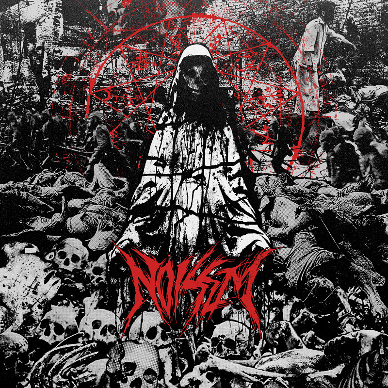 Noisem Agony Defined LP cover art. on A389
