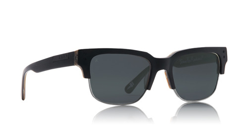 Raen X Deus Ex Machina Underwood Matte Woodgrain Sunglasses