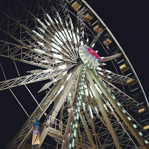 10. #under the #ferriswheel #fmsphotoday