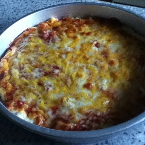 Homemade pizza :) NUMMY