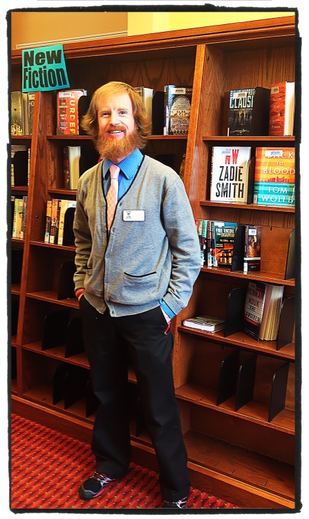 Jon Baughan, Library Assistant at Petoskey District Library, Petoskey, MI