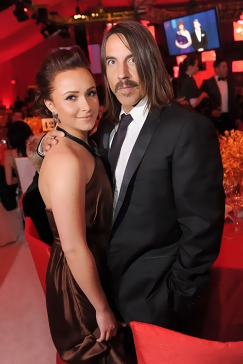 Anthony Kiedis and Hayden Panettiere at the 82nd Academy Awards on March 7th, 2010 at the Kodak Theatre in Los Angeles.