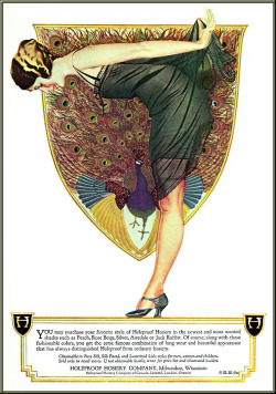 "startwithsunset:  C. Coles Phillips (1880 – 1927) American artist and illustrator, creator of the ""fadeaway girl"" design."