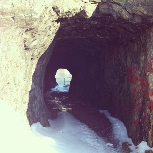 The Brigus tunnel.