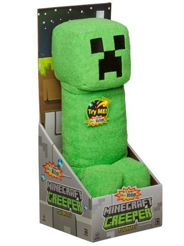 slicknice:  minecraft toys - plush creeper