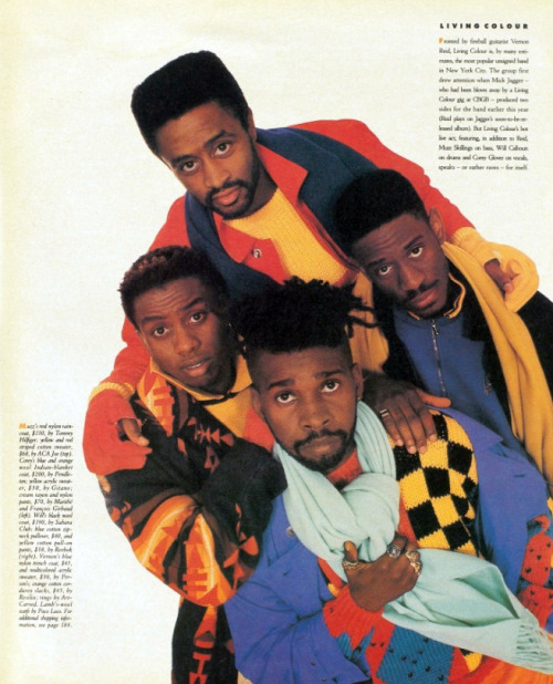 Living Colour, 1987.