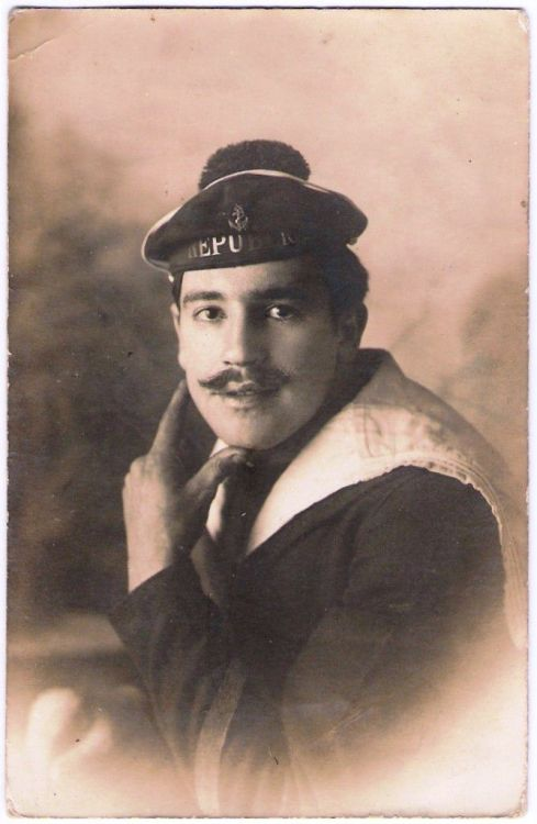 """ Marcelin, French Sailor — 1910 """