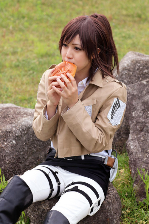 cosplayeverywhere:  Shingeki no Kyojin (進撃の巨人) ~ Sasha Browse (サシャ・ブラウス)