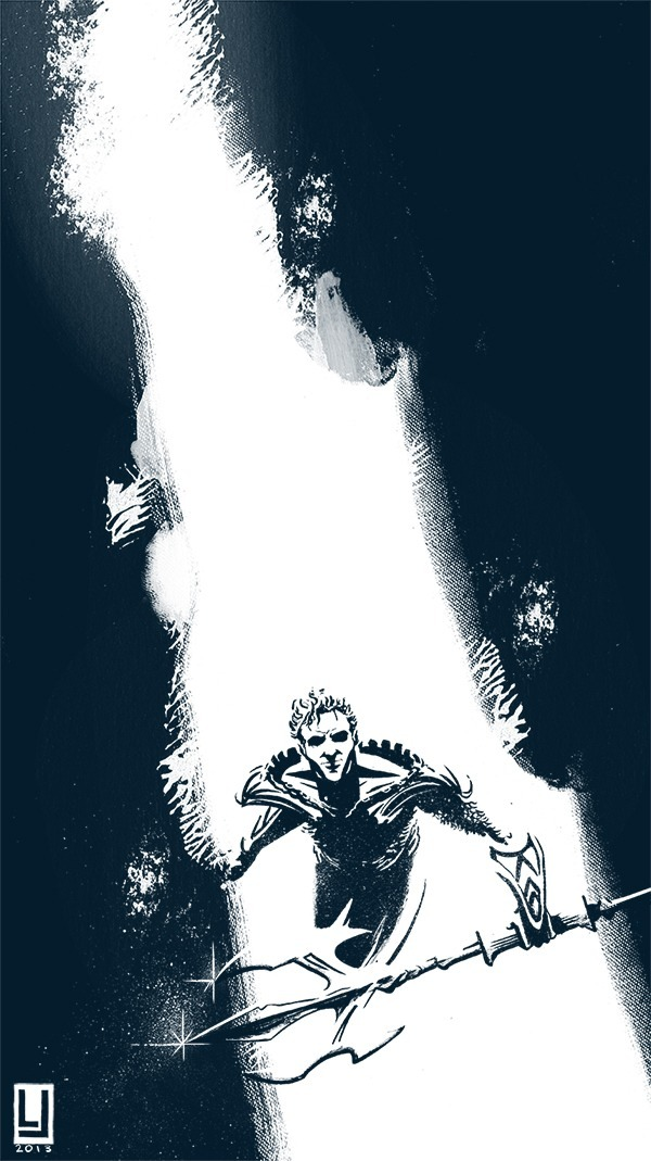 louiejoyce:  Aquaman! The King!