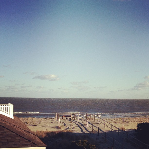 Greetings from Harvey Cedars #LBI #jerseystrong #beachhouse (at Harvey Cedars)