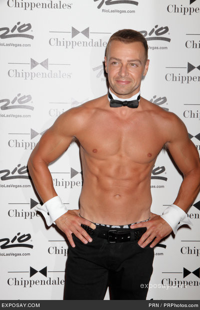 (via Joey Lawrence - Joey Lawrence Guest Stars with the Chippendales Las Vegas at the Rio All-Suite Hotel & Casino on June 8, 2012)