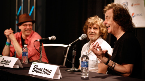 Bob Boilen, host of NPR Music's All Songs Considered, interviews The Zombies at SXSW.