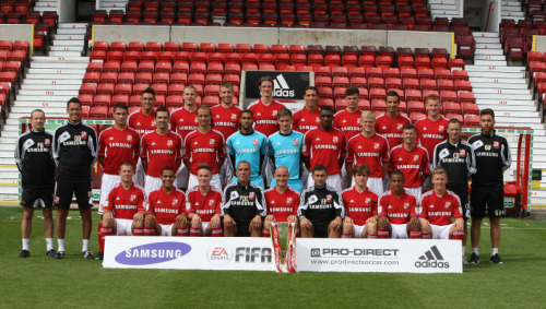 Swindon Town 12/13 … some faces still at the club