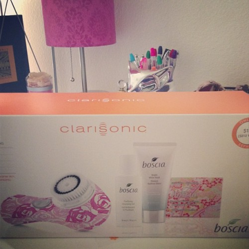 IT'S HERE. #clarisonic #mia2 #boscia #vegan #skin #skincare #sephora #beauty #cleanser