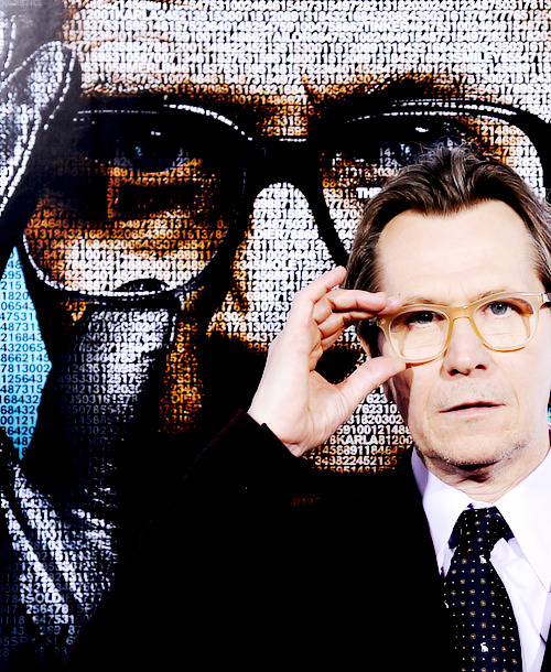 Gary Oldman at the LA Tinker Tailor Solider Spy premiere