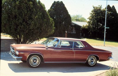 "63 Chrysler 300J, they skipped over the ""I"" because it would look like a 3001. John Deere has also skipped over the 444, 624 and 644 I, they went form H series to J series for the same reason."