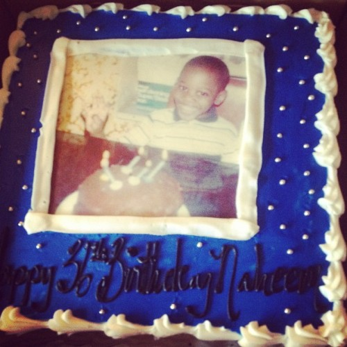 Happy Bday and R.I.P to a Real One My Real Brother! #BakeMyCake #MakeMyCake