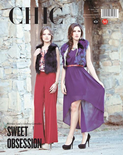 "Chic Magazine No. 322 Por THE ORANGE MARKETING®  12 fotos ""Sweet Obsession""Fotografía: Mysol Fotografía Modelos: Andrea y Mónica para Orange Marketing®Coordinación: Angel Zayún y Francisco Ramos Styling: Tere Prieto Make Up and Hair: Liz VilchezGuardarropa: Peligrosa Agustina Accesorios: Mani MalaaiAgradecimientos: Hotel Chipinque y Parque Ecológico Chipinque"
