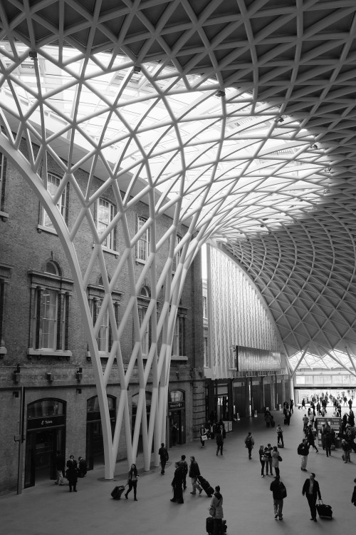 Kings Cross concourse. London, April 2013.