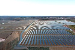 nasdaq:  Apple's data centers now use 100% renewable energy, including solar, wind and geothermal energy — the company no longer powers any of its operations with coal or other fossil fuels. In fact, last December, Apple powered up a 100-acre solar farm adjacent to a North Carolina data center. Using fuel cells made by Bloom Energy Corp., which generates energy from biogases, Apple is able to generate 60% of all the energy it needs to run the data center onsite. Read more about it from Bloomberg, here.