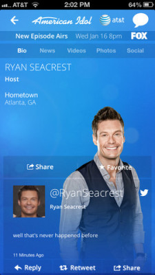 profile on American Idol