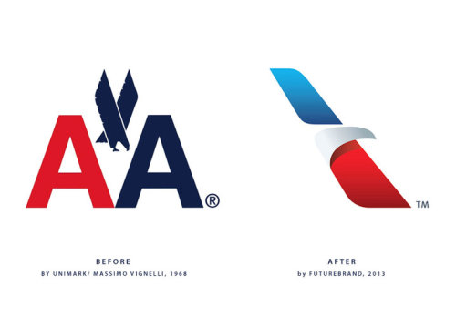American Airlines Rebrands Itself, And America Along With ItFarewell Vignelli, thank you for steering us through the skies these last 40 years.