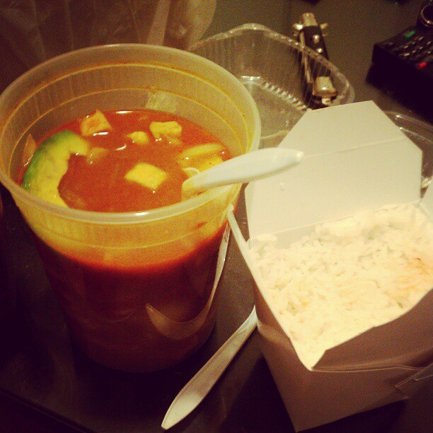 massaman curry and always sunny, y'all #food