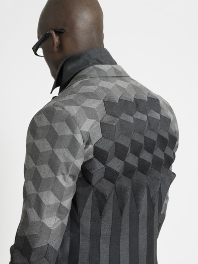 Ichiro Suzuki RCA Graduate Collection, patchwork detail. full here (via RCA Graduate Collection)