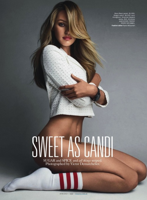 (via Candice Swanepoel in Vogue Australia June 2013 by Victor Demarchelier)