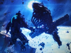 Dead Space³ - The good, the bad and the ugly Main single-player completed 2nd March. Not tried co-op at this time. The good First half of the story; spacewalks were incredible Glorious visuals; space never looked so good Wider and better use of telekinesis. The bad Poor use of mobs; mummified necromorphs were the only mob to feel they belonged to their environment No thought towards combat tactics; mobs have no pattern of attack or patrolling path but appear in ever increasing numbers. The Ugly Character development was thread-bare; Ellie was a wasted character and barely recognisable The conclusion very much by the numbers; story was delivered weakly by text logs and video/audi playback. No development via characters.
