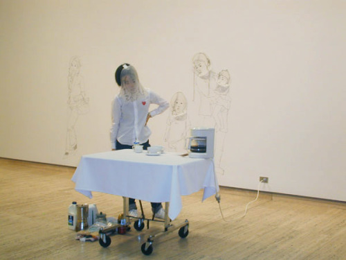 Performance by artist Kei Takemura