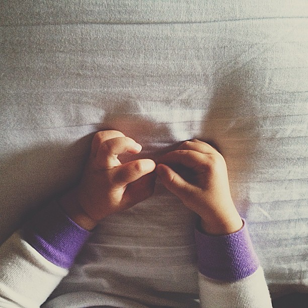 She has little, delicate angel hands. #MorningsWithEmma #vsco #vscocam #vscophile