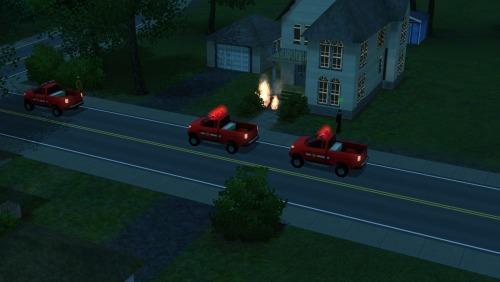 I think i know where all my firetrucks from Simcity went to.