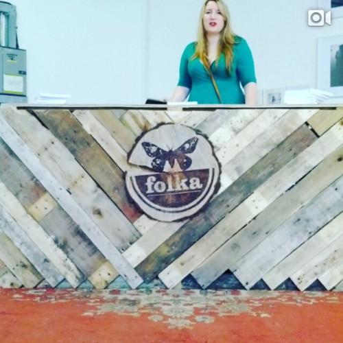 Folka Degree Show at Free Range. (at The Old Truman Brewery)