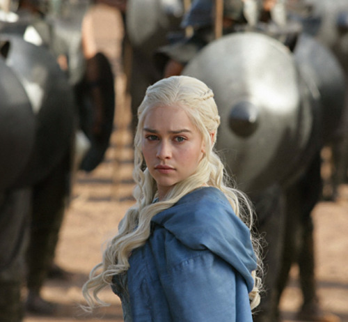 waitingonoblivion:  yeahiwasintheshit:  My name is Daenerys Stormborn of House Targaryen, and I'm gonna fuck your shit up, bitch!  It's my mother fucking mother tongue, mother fucker.
