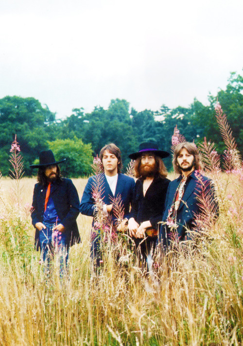 The Beatles final photo session at John's House, August 22, 1969.