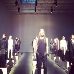 First ever @jbrandjeans fashion week presentation. #nyfw ML