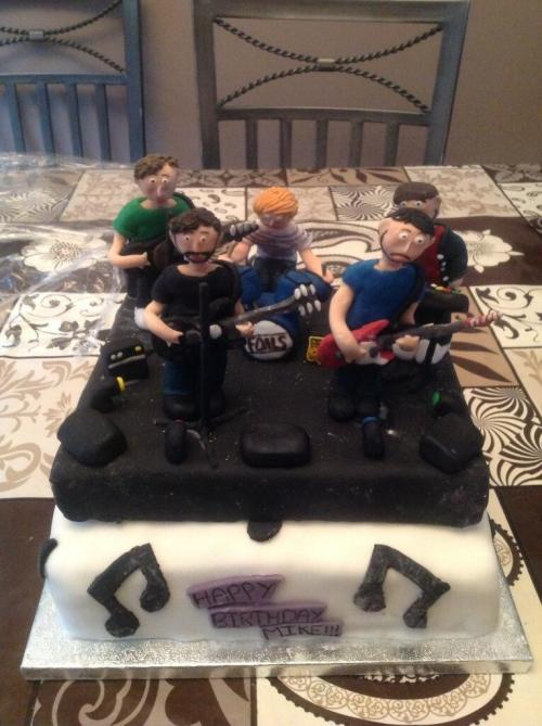 A Foals birthday cake. Awesome.