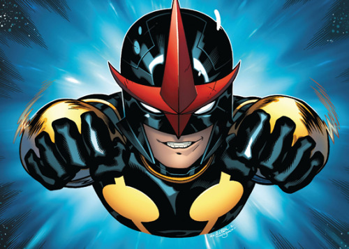 "Who is Sam Alexander? Exclusive look at the triumphant return of ""Nova"" from Marvel's own Jeph Loeb and Steve Wacker!"