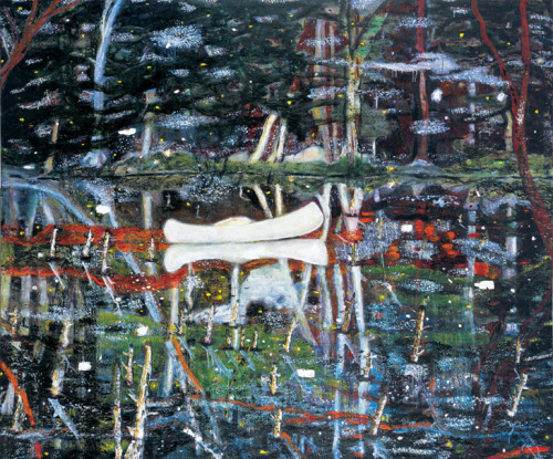 Peter Doig, White Canoe, 1990-91